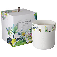 Buy Designers Guild Nymphaea Scented Candle Online at johnlewis.com