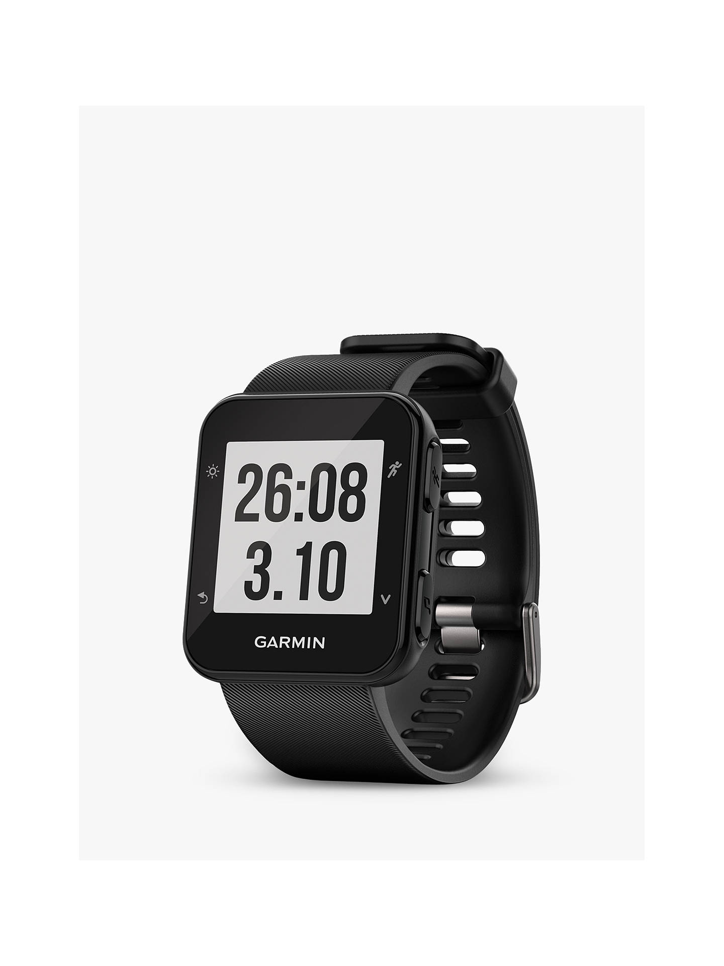 BuyGarmin Forerunner 35 Wrist Heart Rate GPS Fitness Watch, Black Online at johnlewis.com