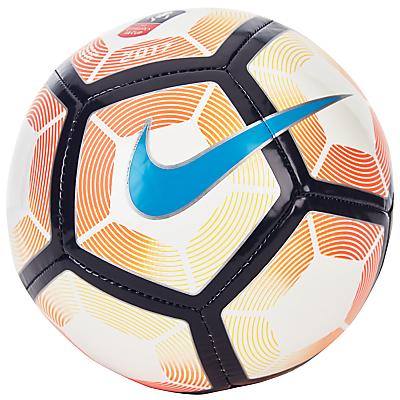 Nike Strike FA Cup Football, Size 1, White/Orange