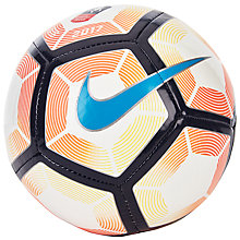 Buy Nike Strike FA Cup Football, Size 1, White/Orange Online at johnlewis.com