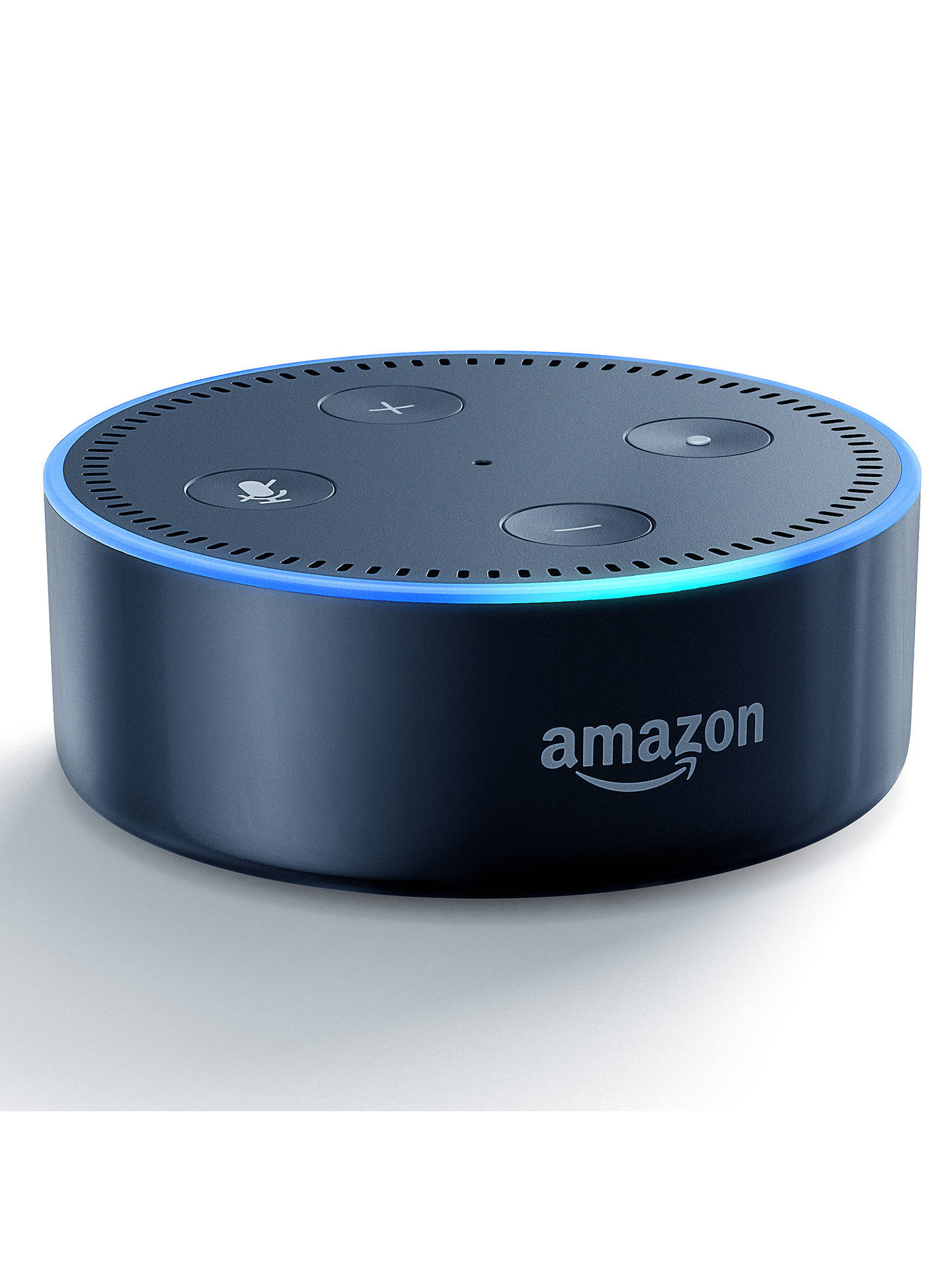 BuyAmazon Echo Dot Smart Device with Alexa Voice Recognition & Control, Black Online at johnlewis.com