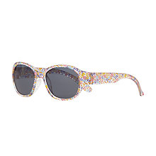 Buy John Lewis Children's Ciara Floral Oversized Sunglasses, Multi Online at johnlewis.com