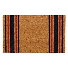 Buy John Lewis Rye Stripe Doormat, Multi Online at johnlewis.com