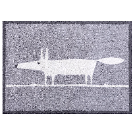 Buy Turtle Mat Scion Mr Fox Doormat Rug Grey John Lewis
