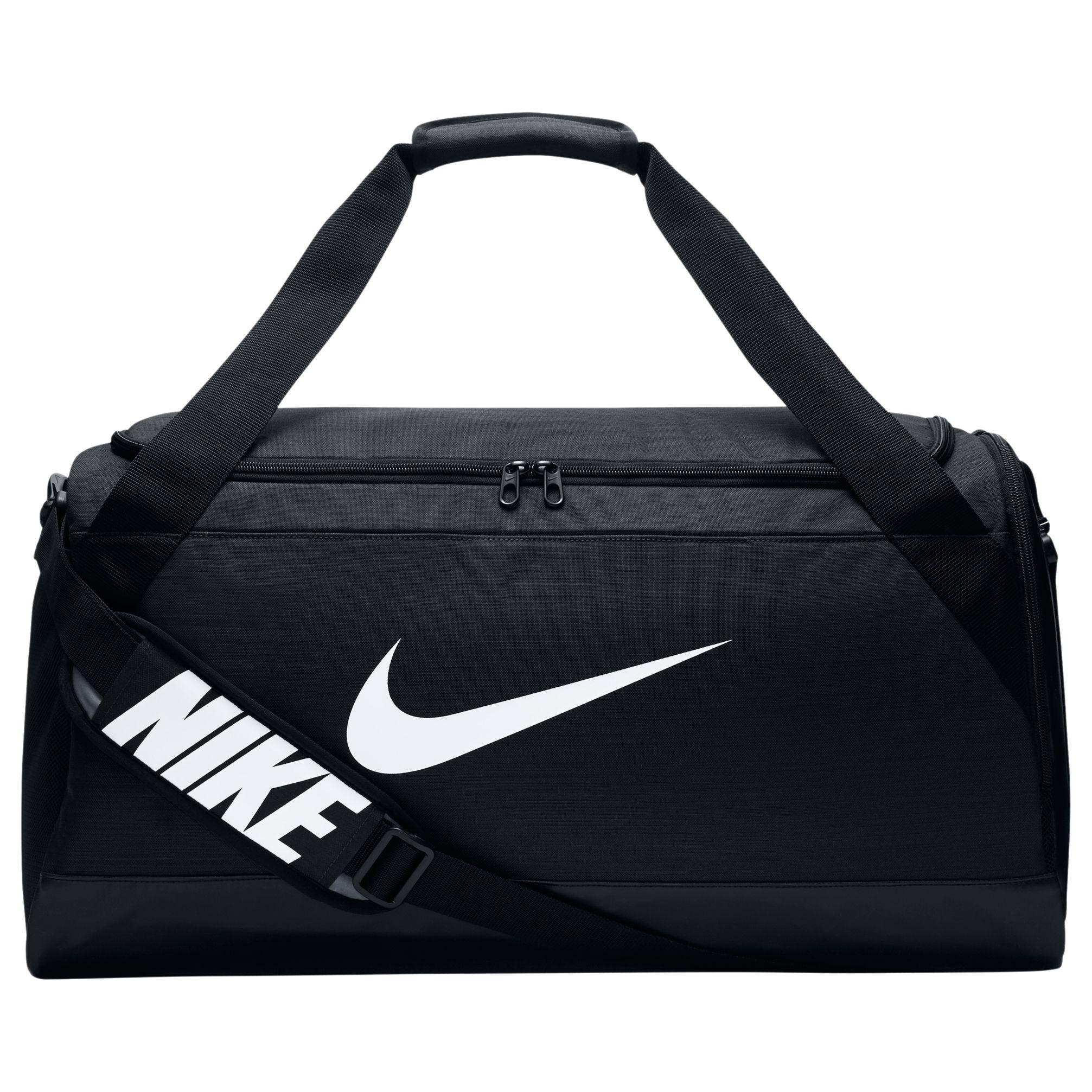 Nike Brasilia Medium Training Duffle Bag at John Lewis   Partners e22d6d028f9d9