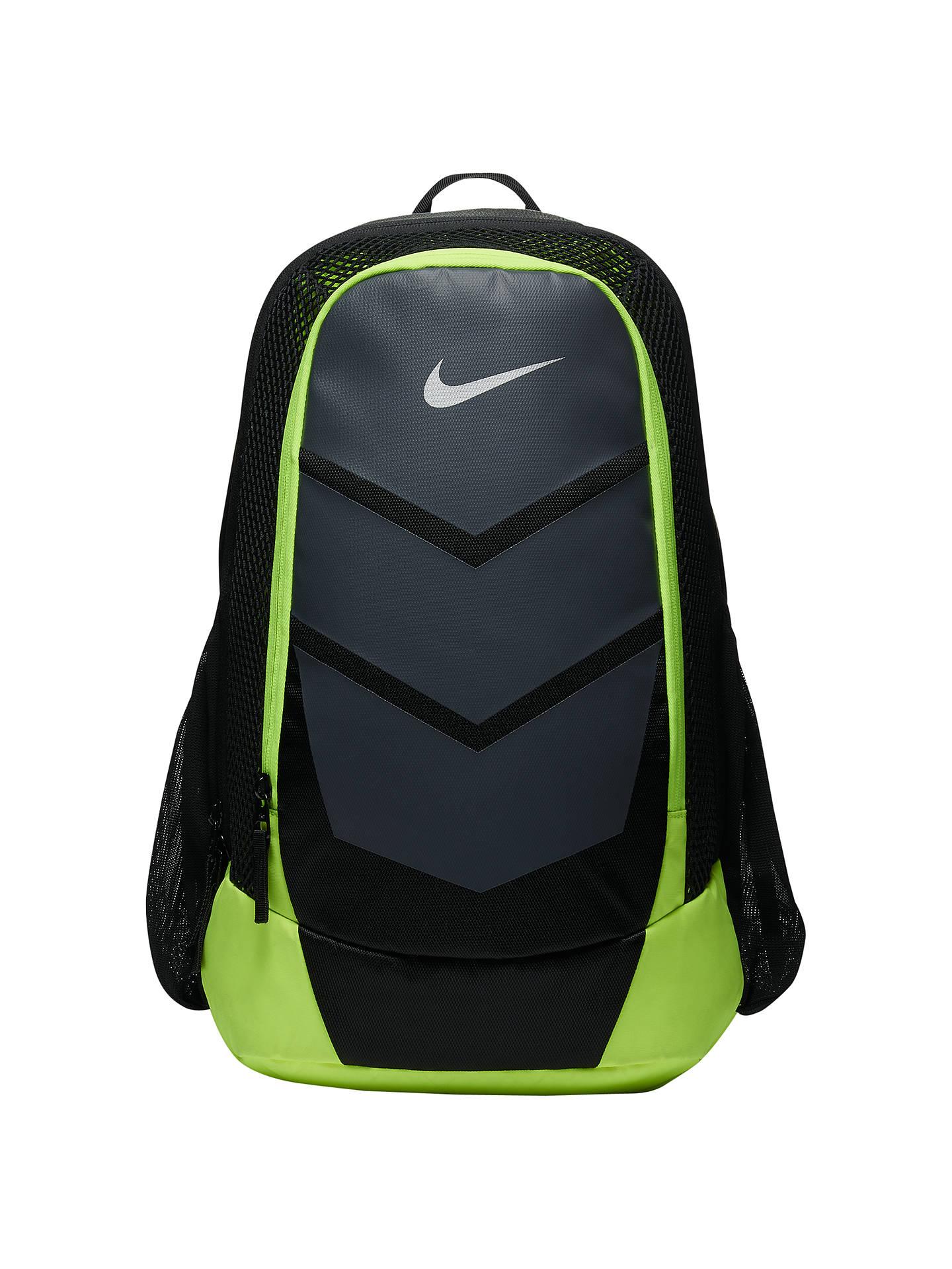 BuyNike Vapor Speed Training Backpack, Black Volt Online at johnlewis.com  ... 9461ae9784