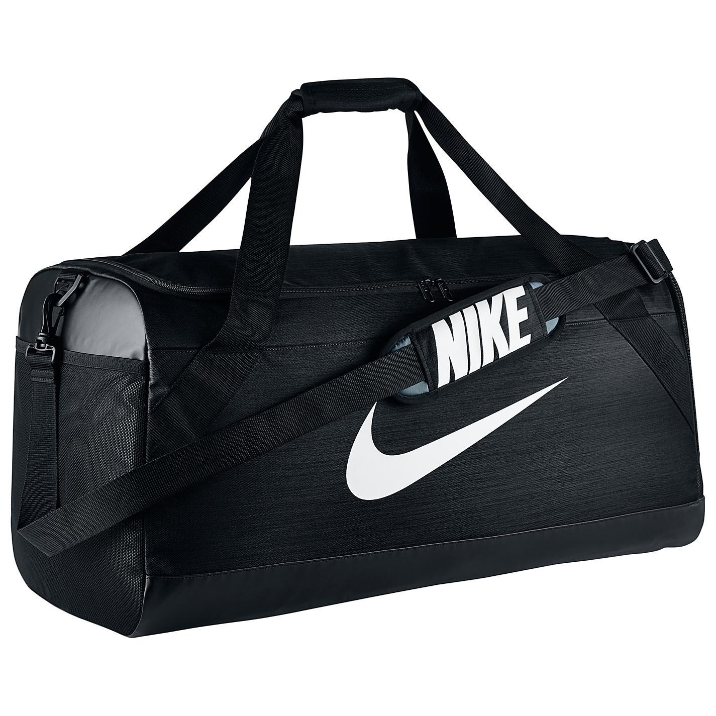 Buy Nike Brasilia Large Training Duffle Bag Black Online At Johnlewis