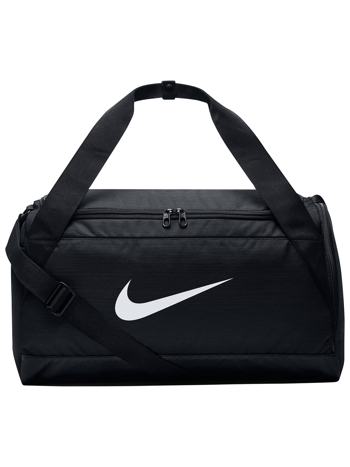 BuyNike Brasilia Training Duffle Bag, Small, Black Online at johnlewis.com