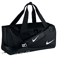 Buy Nike Children's Alpha Training Duffel Bag, Black Online at johnlewis.com