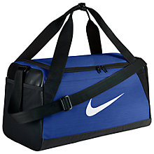Buy Nike Brasilia Training Duffle Bag, Small Online at johnlewis.com