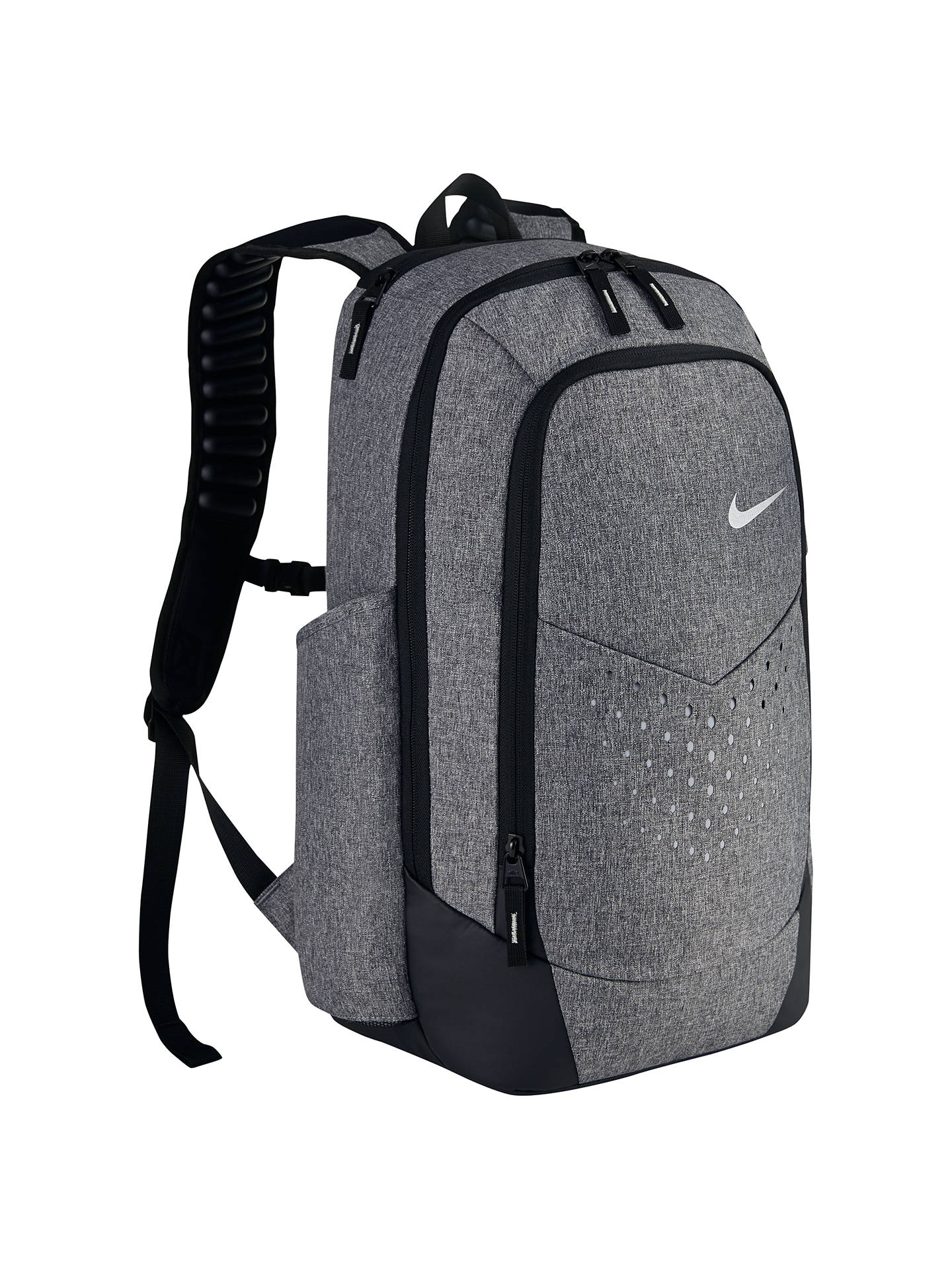 8a91388f4823d Buy Nike Vapor Energy Unisex Backpack, Black/Metallic Silver Online at  johnlewis.com ...