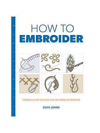 GMC Publications How To Embroider Book by Susie Johns