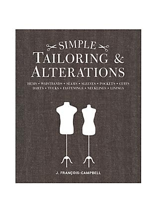 GMC Simple Tailoring and Alterations Book by J. Francois-Campbell