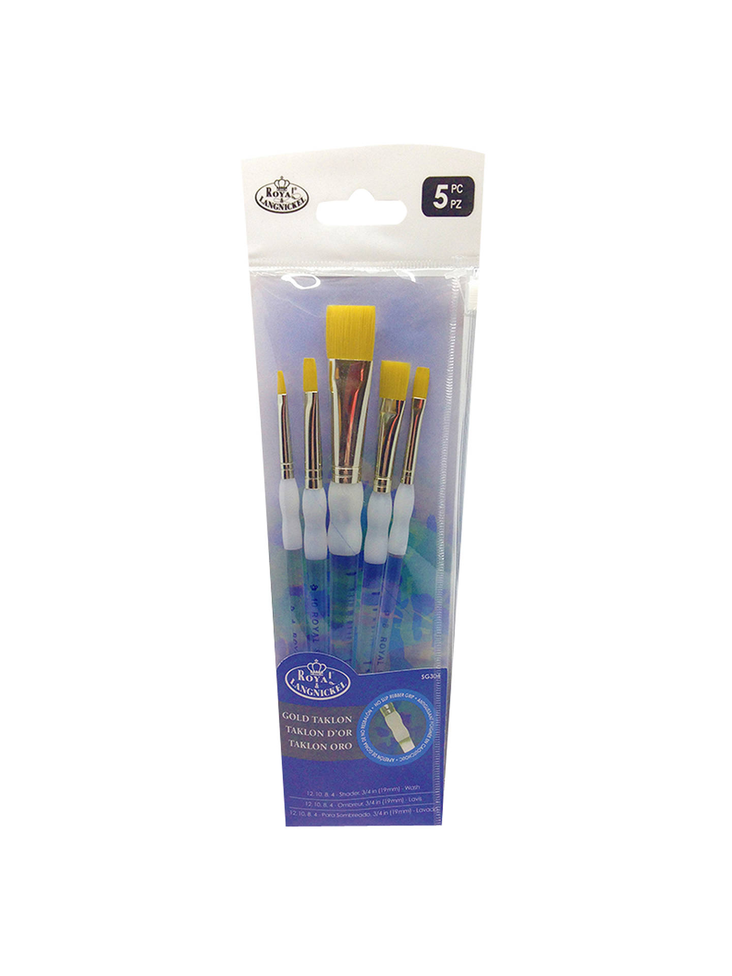 Royal /& Langnickel Soft Wash Brush Set