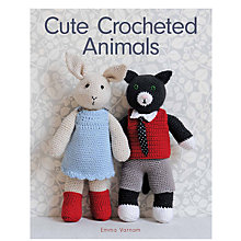Buy GMC Publications Cute Crocheted Animals Book by Emma Varnam Online at johnlewis.com