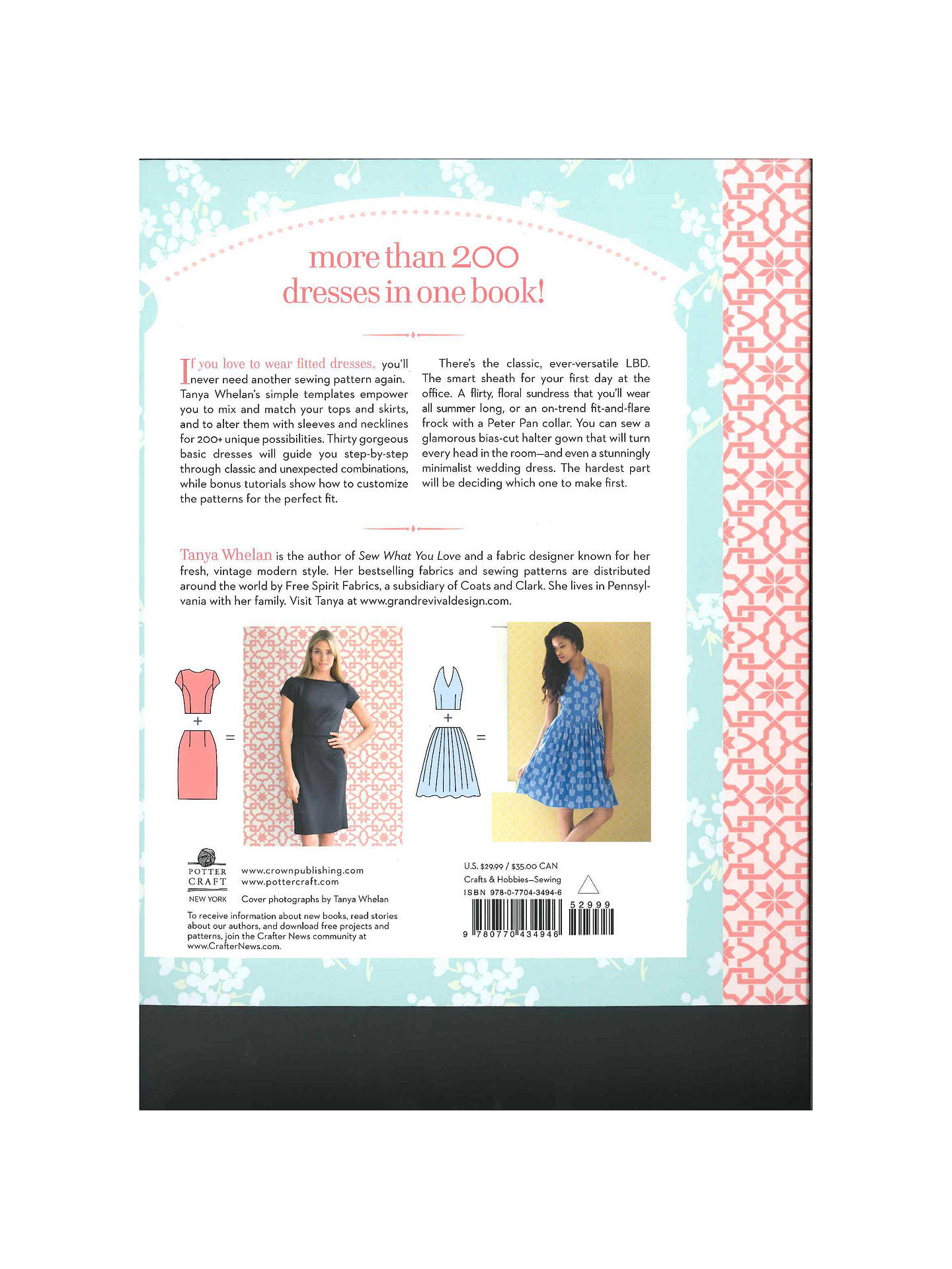 GMC Sew Many Dresses Sew Little Time Book by Tanya Whelan at John ...