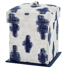 Buy John Lewis Yukie Victorian Sewing Box, Blue Online at johnlewis.com