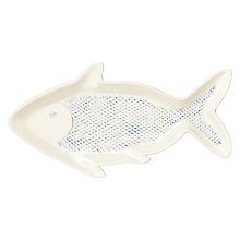Buy Fish Shape Ceramic Plate Online at johnlewis.com