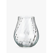 Buy Short Swirl Optic Vase Online at johnlewis.com