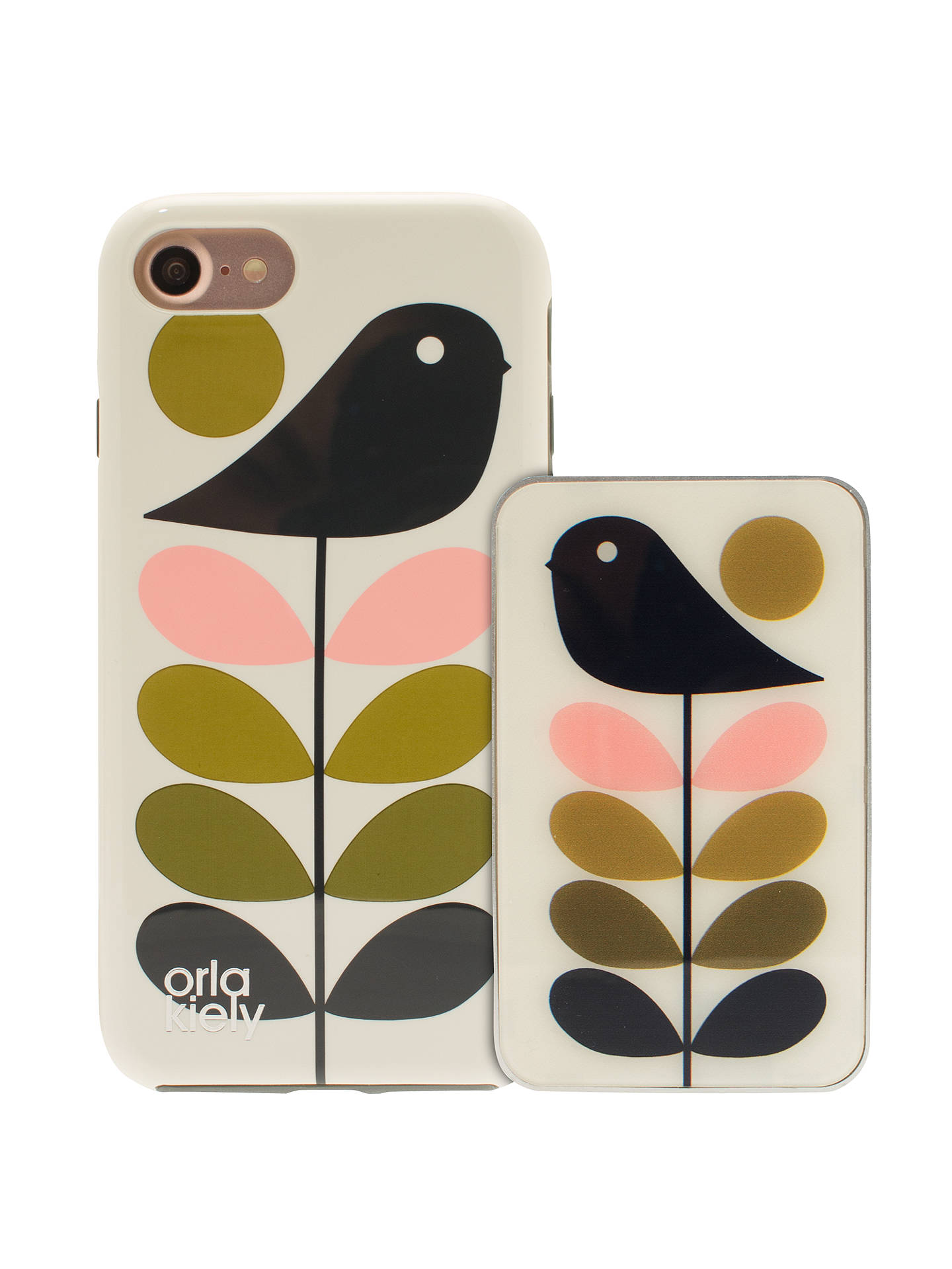 competitive price 55a5a 9cc8c Orla Kiely Early Bird & Ditsy Early Bird Cases for iPhone 7, Pack of ...