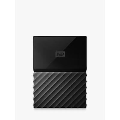 WD My Passport Portable Hard Drive, 2TB