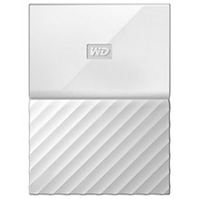 Buy WD My Passport Portable Hard Drive, 4TB Online at johnlewis.com