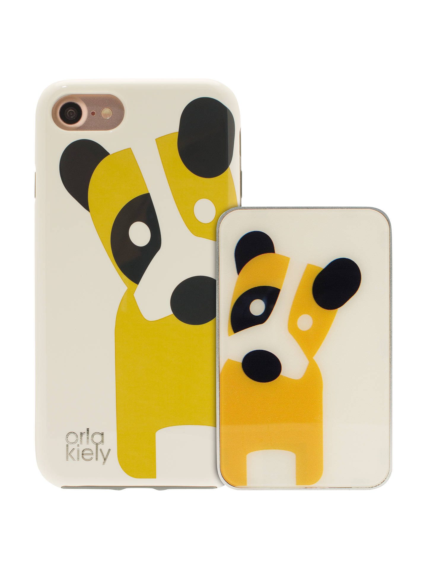 size 40 6dabe b7091 Orla Kiely Giant Flower Spot & Dog Cases for iPhone 7, Pack of 2 at ...