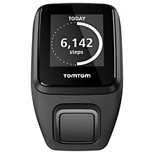 Buy TomTom Spark 3 Cardio & Music GPS Fitness Activity Watch with Bluetooth Headphones, Black Online at johnlewis.com