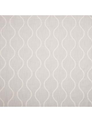 John Lewis & Partners Chattis Embroidery Furnishing Fabric, Grey