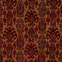Buy John Lewis Medina Furnishing Fabric, Red Online at johnlewis.com