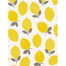 Buy John Lewis Lemons PVC Tablecloth Fabric Online at johnlewis.com