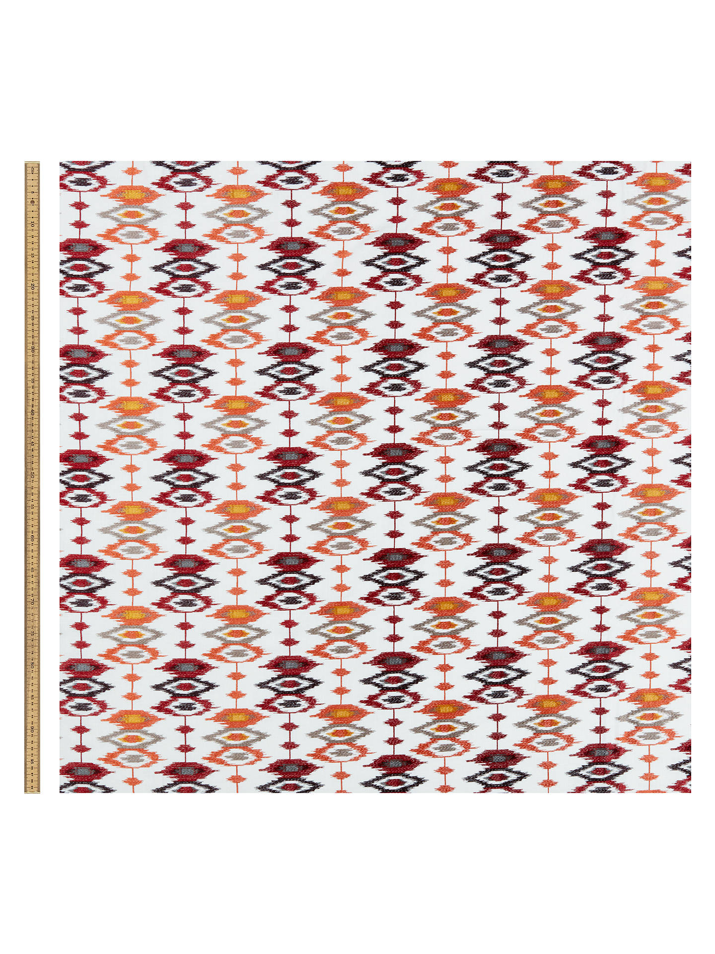 Buy John Lewis & Partners Catalina Furnishing Fabric, Red Online at johnlewis.com