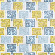 Buy John Lewis Alma Furnishing Fabric, Sulphur Online at johnlewis.com