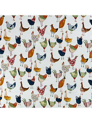 John Lewis & Partners Murray Birds PVC Tablecloth Fabric