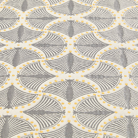 ... Buy Genevieve Bennett for John Lewis Deco Palm Furnishing Fabric Online  at johnlewis.com ...