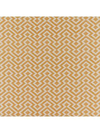 John Lewis & Partners Meeko Made to Measure Curtains, Saffron