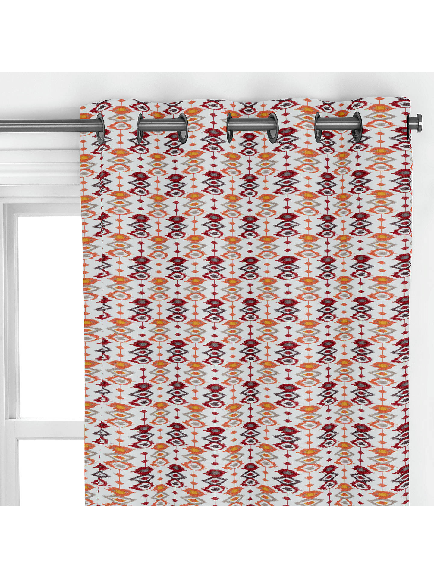 BuyJohn Lewis & Partners Catalina Curtain, Red Online at johnlewis.com