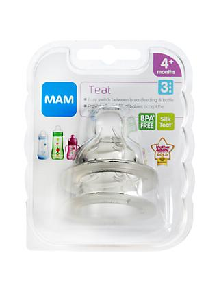 MAM Fast Flow Baby Bottle Teats
