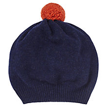 Buy Jigsaw Shona Contrast Knit Pom Pom Hat Online at johnlewis.com