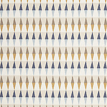 Buy Harlequin Ampico Ochre/Navy/Sky Fabric, Price Band F Online at johnlewis.com