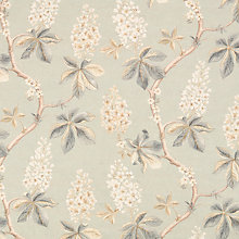 Buy Sanderson Chestnut Tree Blue/Sage Fabric, Price Band F Online at johnlewis.com