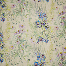 Buy Designers Guild Champ De Fleurs Amethyst Fabric, Price Band F Online at johnlewis.com