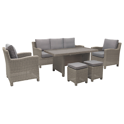 KETTLER Palma 7 Seater Garden Lounge / Dining Table and Chairs Set