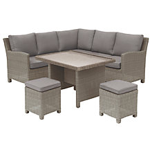 Buy KETTLER Palma Mini Lounge / Dining Set With Glass Top Table Online at johnlewis.com