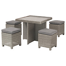 Buy KETTLER Palma 4 Seater Cube Set With Glass Top Table Online at johnlewis.com