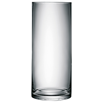 LSA International Column Vase, H42cm, Clear