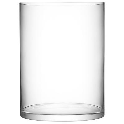 LSA International Column Vase / Candle Holder, H40cm