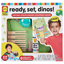 Buy ALEX Ready, Set, Dinos! Craft Kit Online at johnlewis.com