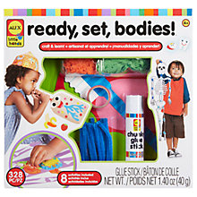 Buy ALEX Ready, Set, Bodies! Craft Kit Online at johnlewis.com