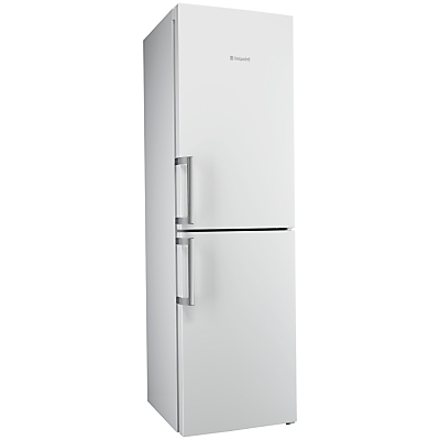 Hotpoint Ultima XJL95T2UWOH Freestanding Frost Free Combi Fridge Freezer, A++ Energy Rating, 60cm Wide, White